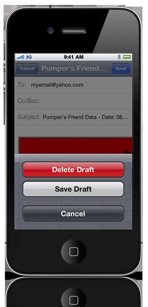 Send Data Cancel